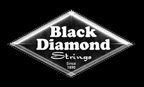 Black Diamond Strings and Picks Logo