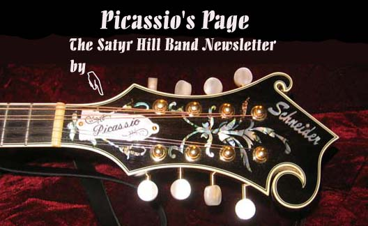 The Satyr Hill Band Newsletter Banner